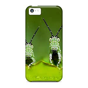 New Arrival Cover Case With Nice Design For Iphone 5c- Bugs Green