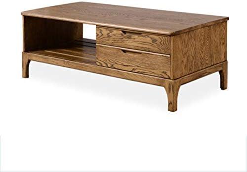 AQSG Mesa de Centro rústica Mesa de sofá Mesa de Centro de diseño ...