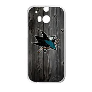 Personalized NHL Delicate HTC One M8 Custom Logo Case Great shield High Quality Logo Case by runtopwell