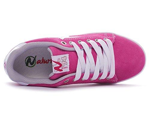 Naturino Sport 493 Velour/Sprint filles, , sneaker low