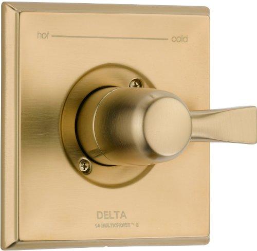 Delta Faucet T14051-CZ Dryden Monitor 14 Series Valve Trim Only, Champagne Bronze by DELTA FAUCET
