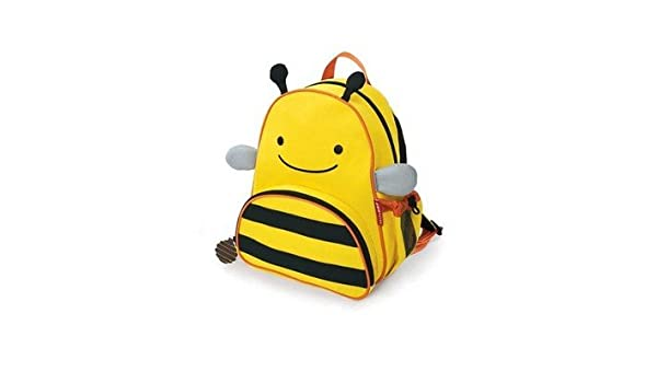 ee7861b056ce Amazon.com : MM-BABY® Fashion Cute Animals Canvas School Backpack For Kids  Bee : Baby