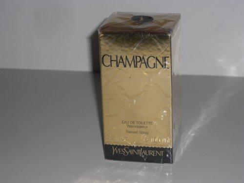 (Champagne by YSL Yves Saint Laurent Eau de Toilette 3.3 oz Spray Cologne for Women)