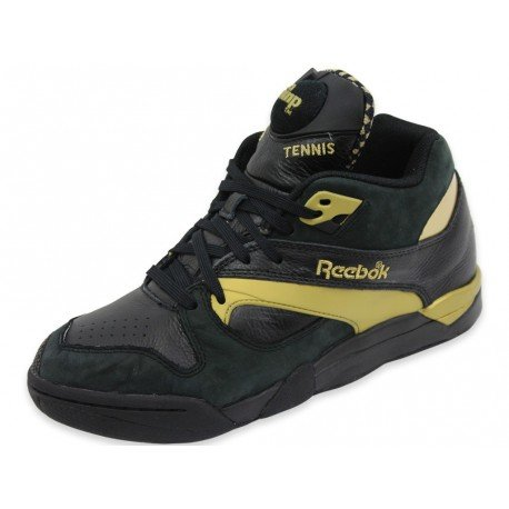Reebok Classic Court Victory Pump Black Unisex Sneakers, Size 7