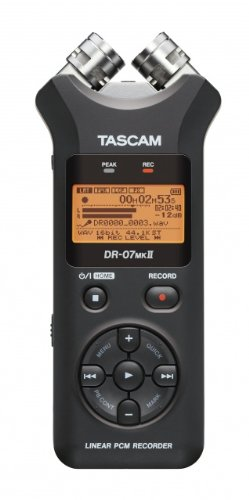 TASCAM DR-07MKII Portable Digital Recorder by Tascam