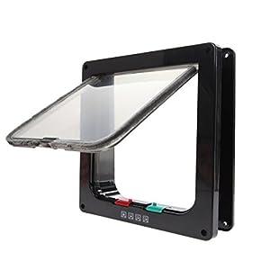 ShineBlue 4-Way Lockable Cat Flap Door