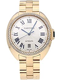Cle De Cartier Mechanical (Automatic) Silver Dial Womens Watch WJCL0010 (Certified Pre-