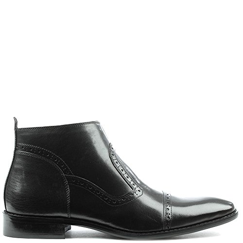 Ankle Leather Hermitage Leather Boot Black Black Hole Daniel Punch xqEfSXwfP