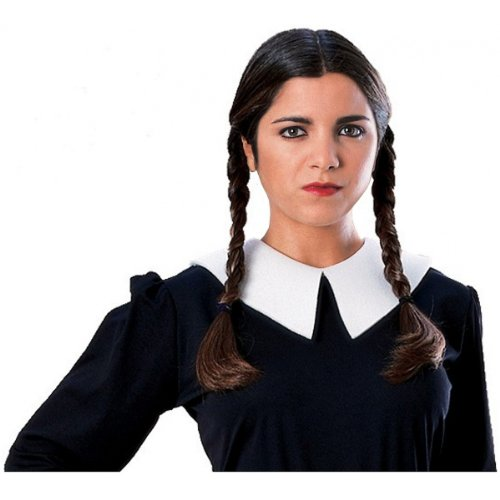 [Wednesday Addams Wig Costume Accessory] (The Addams Family Wednesday Costumes)