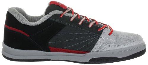 Kappa BRONX LOW 241269 Unisex - Erwachsene Fashion Sneakers Grau (grey / red 1620)