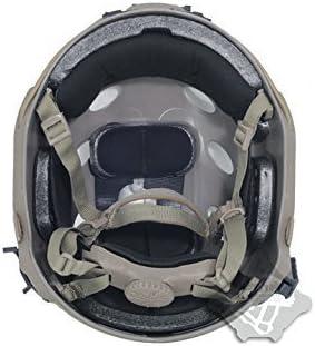 H Welt Shopping FMA Tactical Airsoft Verstellbare Schnelle Helm PJ NVG Halterung f/ür Tactical Airsoft Paintball de