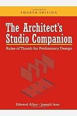 The Architect's Studio Companion: Rules of Thumb  for Preliminary Design Hardcover
