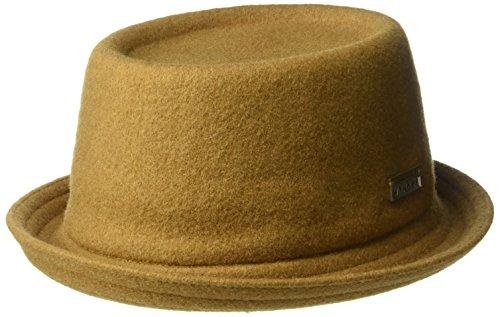 Kangol Men's Wool Mowbray Hat, Wood, - Hat Mowbray Wool