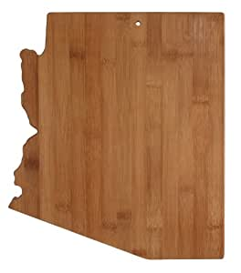 Totally Bamboo State Cutting & Serving Board, Arizona, 100% Bamboo Board for Cooking and Entertaining