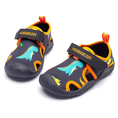 WOUEOI Toddler Boys Aqua Water Shoes Quick Dry Girls Sport Beach Swim Sandals Little Kids