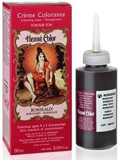 sitarama henn color crme colorante au henn bordeaux yumi bio shop - Coloration Bordeaux Fonc