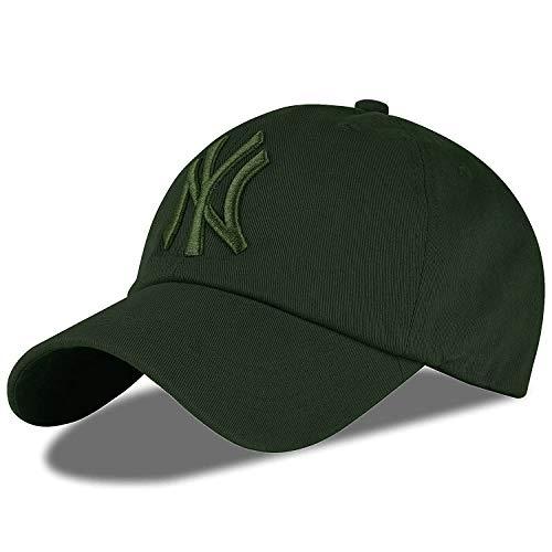 ILU Cap for Men | Caps Baseball Snapback Beanie Sports Adjustable Hiphop Dancing Army Khaki