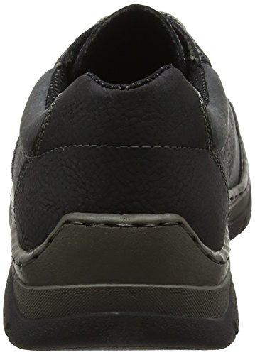 Homme Schwarz 16921 Basses 40 Noir Noir Coal EU Sneakers Rieker qSwTUax