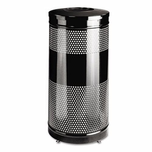 United Receptacle Inc . Round Wastebasket - Round Open Top Receptacle