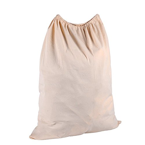 Ohuhu Natural Cotton Laundry Bag Extra Large (Laundry Bags Extra Large compare prices)