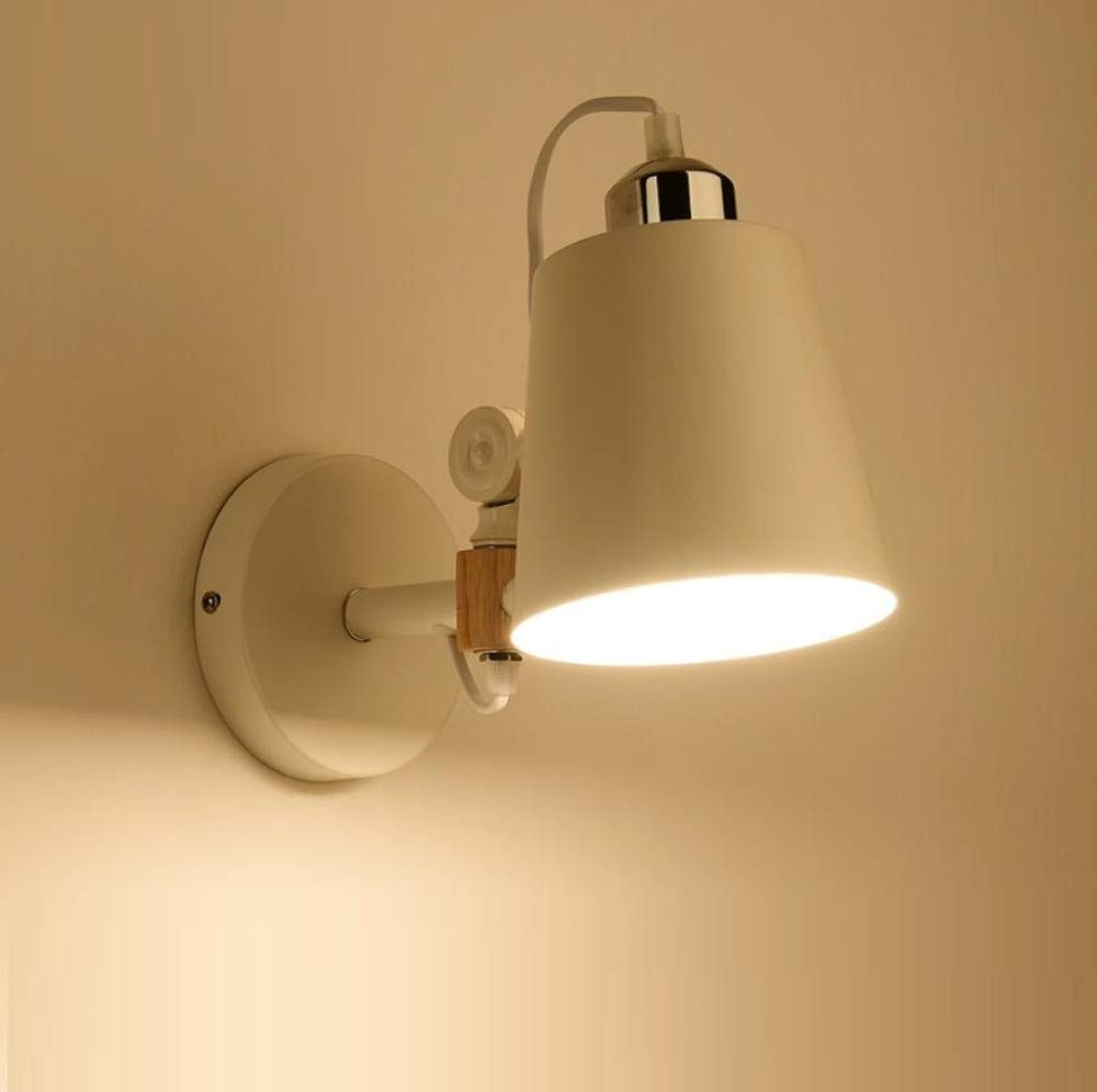 Wandleuchte Nordic Kreative Original Holz Lampe Schlafzimmer Japanische Nachttischlampe Wohnzimmer Gang Massivholz Moderne Minimalistische Wandleuchte