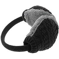 Knitted Wool Warm Earmuffs-FuSi Cute Faux Furry Adjustable Winter Earmuffs