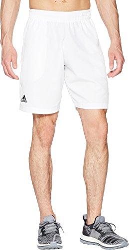 adidas Mens Tennis Club Bermuda, White, Large