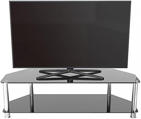 King Universal Negro Soporte para televisor de Cristal 140 cm, Apto hasta 65 Pulgadas para HD Plasma LCD LED Curvado OLED televisores: Amazon.es: Electrónica