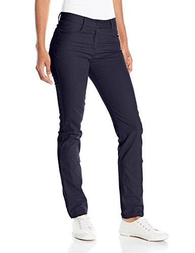 Navy Blue Pants (IZOD Junior's Uniform Stretch Twill Skinny Pant, Navy, 5)