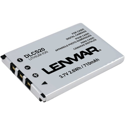 LENMAR DLCS20 Casio(R) NP-20 Digital Camera Replacement Battery electronic (Np 20 Digital Camera Battery)