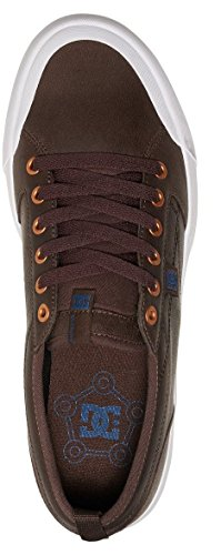 Dc Shoes Evan Smith LX - Zapatos para Hombre, Color: DK CHOCOLATE, Talla: 43 EU (10 US / 9 UK)