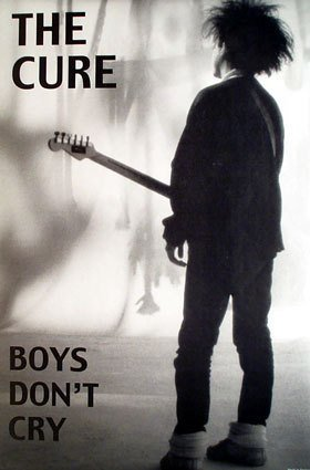 The Cure - Boys don't Cry - Paper Poster