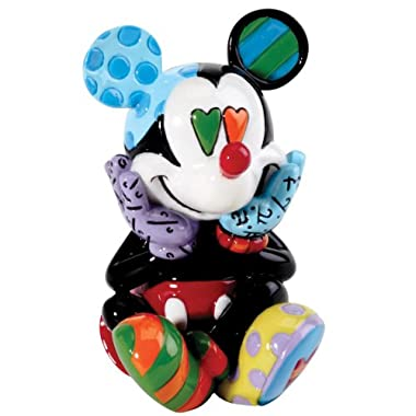 Enesco Disney by Britto Mickey Mini Figurine, 2.6-Inch