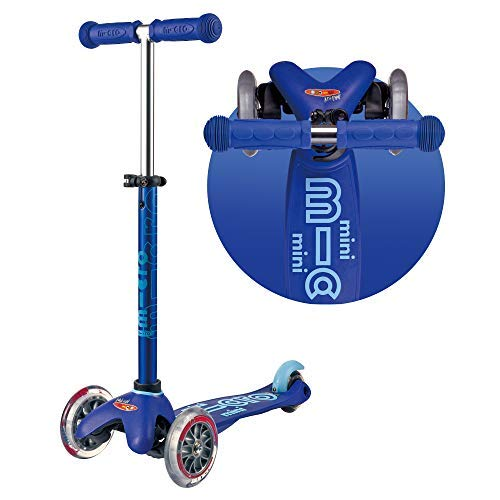 Mini 3in1 Deluxe 3-stage ride-on Micro scooter toddler toys for ages 12 months to 5 years - Blue