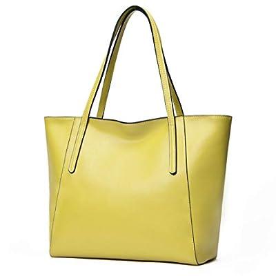 CHERRY CHICK 21 Colors Women's Genuine Cowhide Everyday Tote Purse Shoulder-handbag