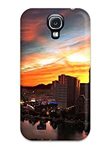 Shock-dirt Proof Tokyo City At Twilight Case Cover For Galaxy S4