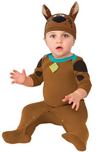 Rubie's Baby Boys' Scooby Doo Romper Costume, Multi, 0-6 Months