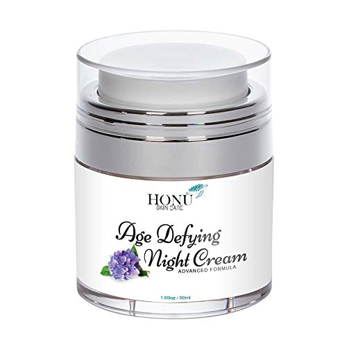 Anti Aging Night Cream & Wrinkle Cream - Perfect Night Cream For Face - Advanced Face Lotion Formula - Supports Skin Elasticity & Firmness, Dark Spots, Blemishes, While Toning & - Wrinkle Aging Anti Night Cream Anti