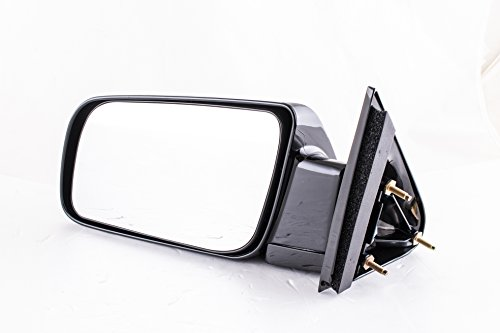 Dependable Direct Left Driver Side Unpainted Non-Heated Folding Door Mirror Chevy Blazer Suburban Tahoe GMC Yukon C/K1500 C/K2500 C/K3500 (1988 1989 1990 1991 1992 1993 1994 1995 1996 1997 1998 1999)