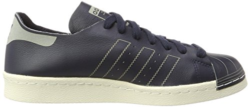 adidas Damen Superstar 80s Decon Sneaker Blau (Legend Ink/Legend Ink/Off White)