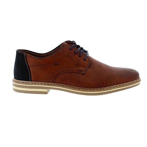 Rieker B14B9 Mens Smart Lace Up Shoes 24 Brown