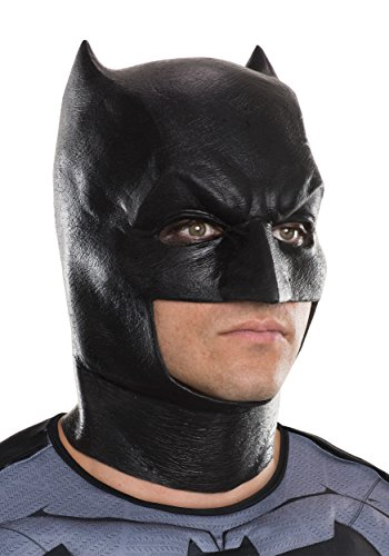 Rubie's Costume Co. Men's V Superman: Dawn of Justice Batman Mask, As Shown, One Size (Superman Adult Costume)