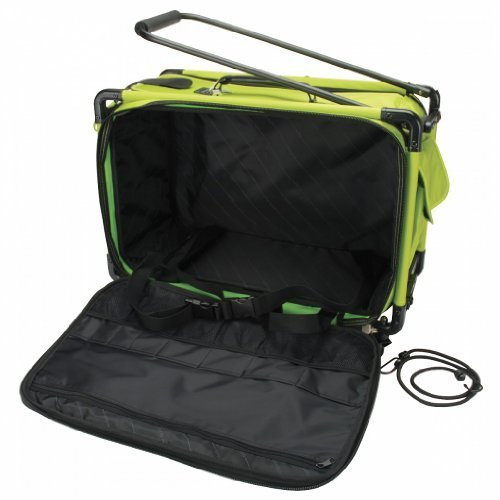 TUTTO Machine On Wheels Case 23''X15''X12''-Lime by Tutto