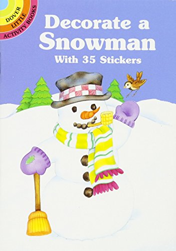 Decorate a Snowman With 35 - Sticker Activity Gingerbread House