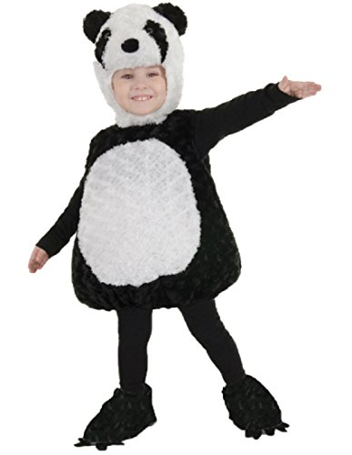 Underwraps Baby's Panda Belly-Babies, Black/White, Large for $<!--$18.67-->