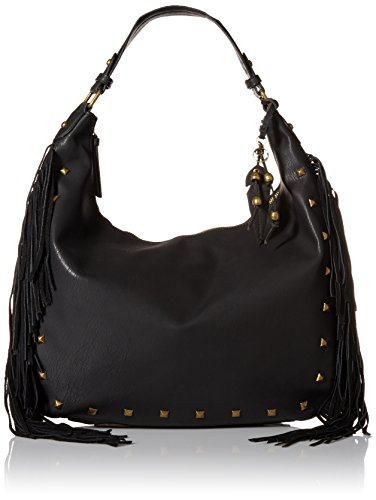 Jessica Simpson Neilson Hobo Shoulder Bag, Black, One Size