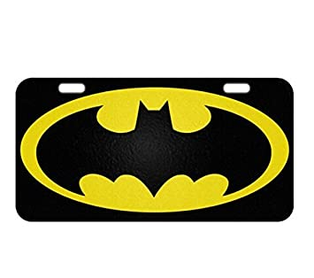 batman license plate frame