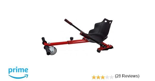 Asiento Kart para patinete eléctrico / HOVERKART (ROJO)