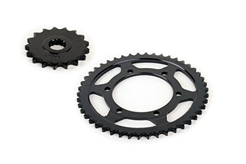 2003 2004 2005 fits Yamaha R6 YZF-R6 530 Conversion Front and Rear Sprocket 17/46 ()