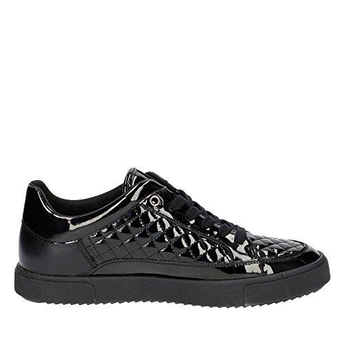 Geox de lacets Noir femme Chaussures pour ville à aaPqxZOHR